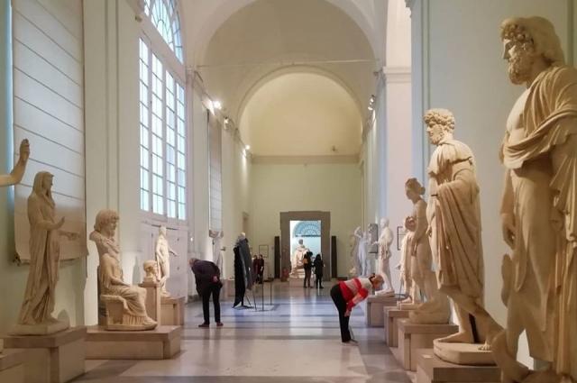 Национальный археологический музей Неаполя - лучшее в мире собрание античной культуры.