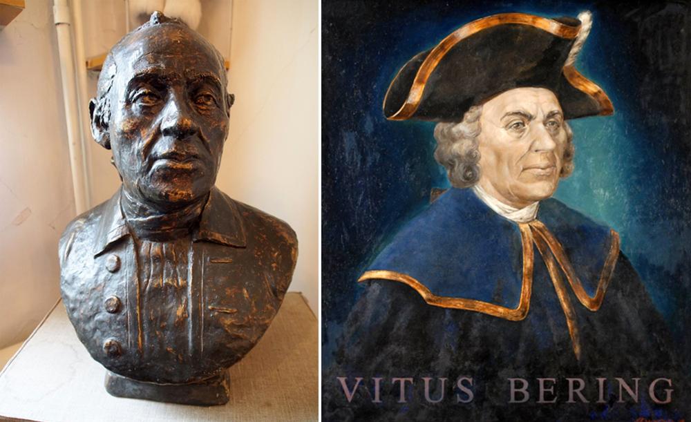 Посмертная реконструкция лица Витуса Йонассена Беринга.