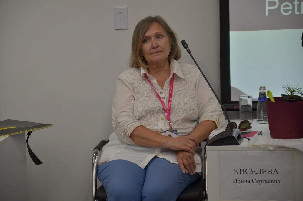 Кандидат биологических наук Ирина Киселёва.