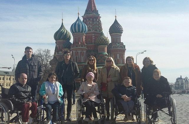 Совместить приятное с полезным:  студенты «Квартала Луи» немного погуляли по Москве.