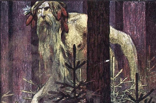 Н. Брут «Леший», 1906 год