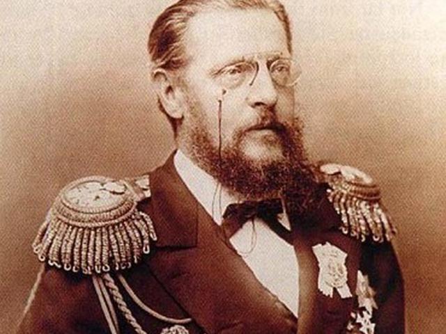 Когда в 1889 году князя хватил удар, его перевезли в Павловск, где жила до этого его «казенная» жена.