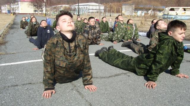 Мужская сборная «Приморского спецназа»