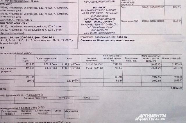 Долг от предыдущих владельцев составил более 43 тысяч рублей.