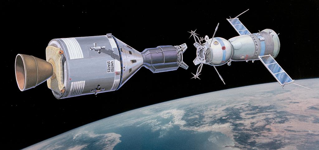 Корабли Аполлон и Союз-19 . Реконструкция