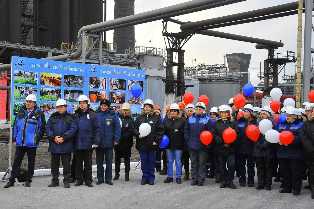 На открытии крупного экологического объекта присутствовал заместитель министра экологии Челябинской области.
