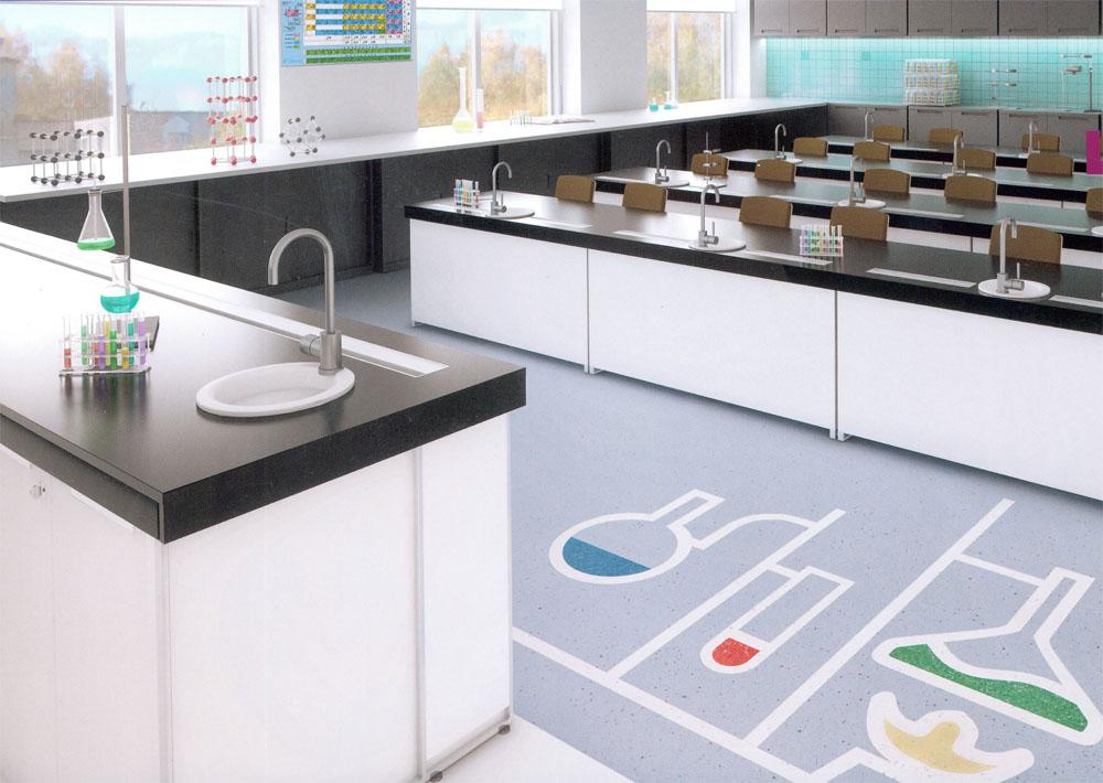 Школа в «Жигулиной роще», кабинет химии.