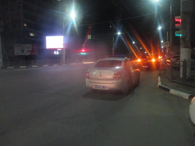 ДТП в на пересечении Октябрьской и Пузакова