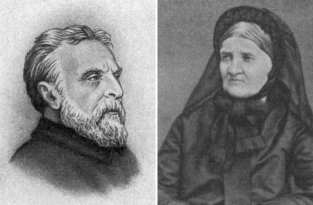 Родители К. А. Тимирязева