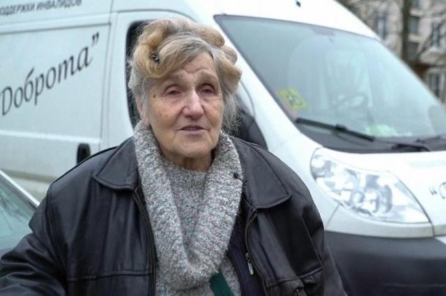 Галина Ивановна пережила блокаду благодаря неравнодушным людям.