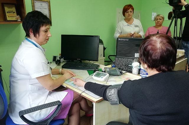 Терапевт автоматически получает данные по состоянию здоровья пациента