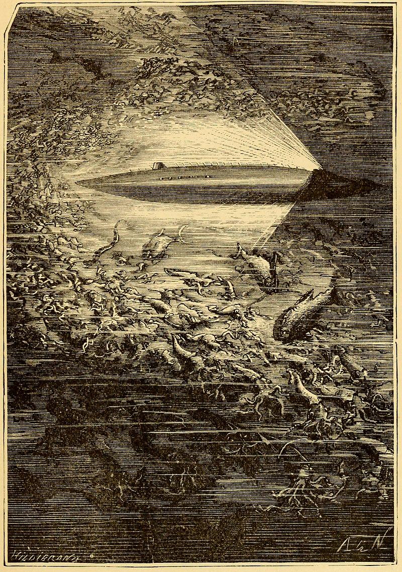 «Наутилус» в представлении художника Альфонса де Невиля.