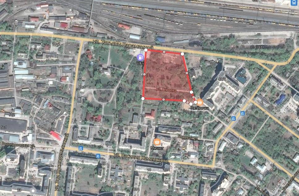 Месторасположение будущего жилого комплекса.