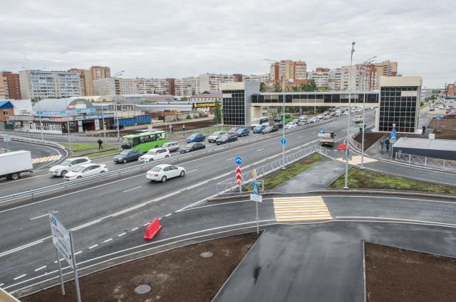 Развязка - ул. Мельникайте и ул. 30 лет Победы.