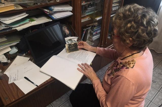 Татьяна Михалёва вышла на пенсию и стала заниматься поисками без вести пропавших воинов время Великой Отечественной войны.
