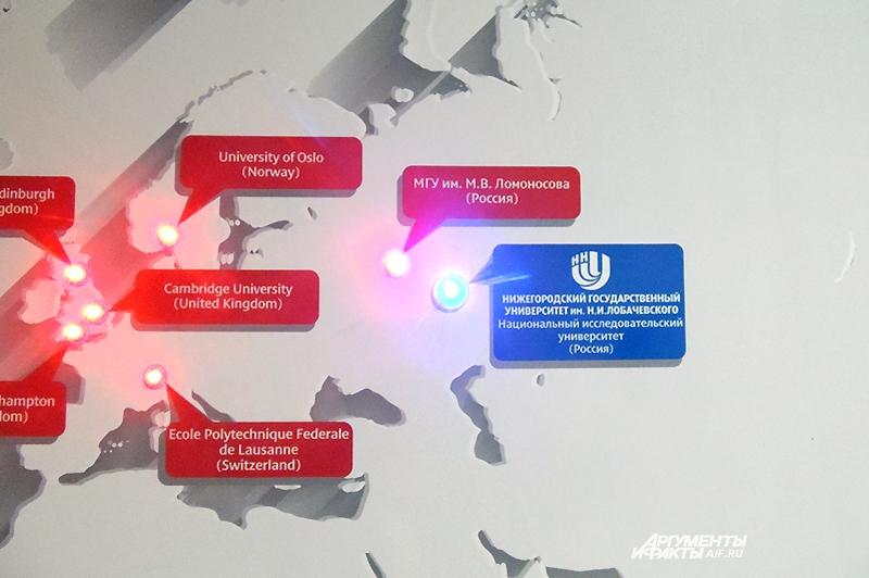 Лобачевский занял достойное место на интерактивной карте суперЭВМ мира