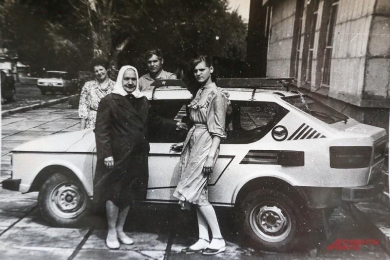 Второй такой машины в СССР не было