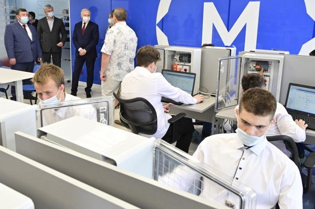 Колледж в Канске оснастили современной техникой.