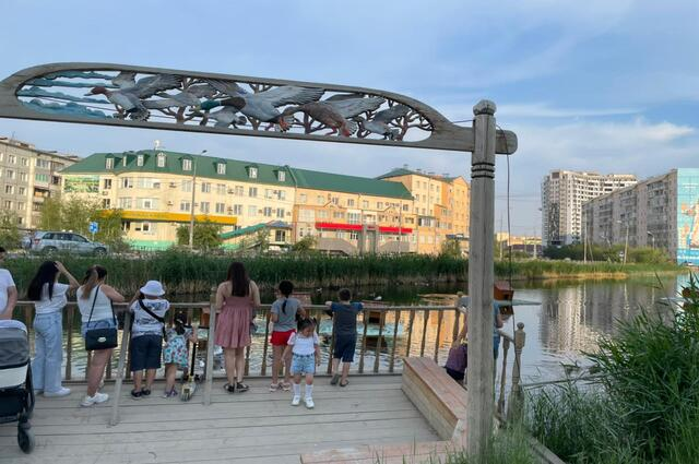 Жители Якутска облюбовали эко-парка.