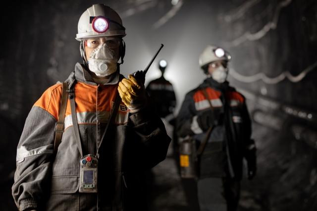 Представительницы шахты «Осинниковская» за работой.