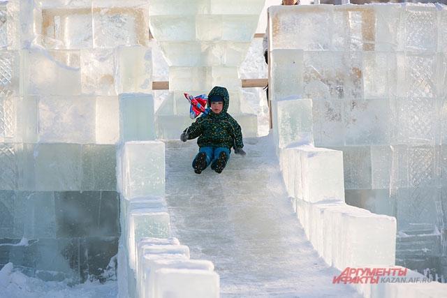 Ледовый городок переедет на Ярмарочную площадь.
