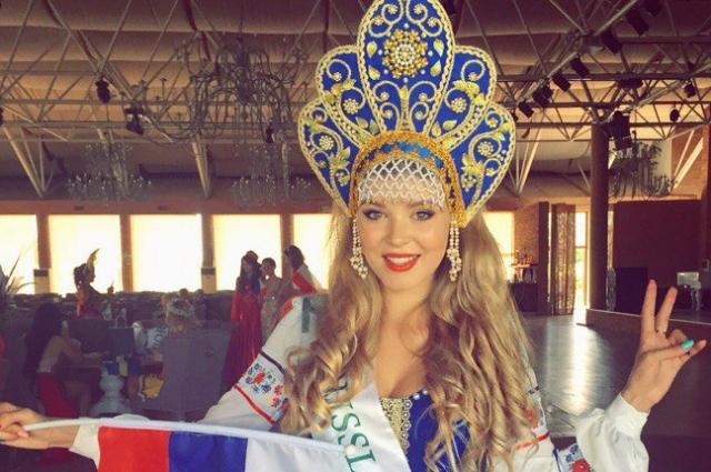 Валентина Расулова из Ростова-на-Дону – обладатель титула «Мисс Планета спорт» на конкурсе красоты «Мисс Планета 2015»