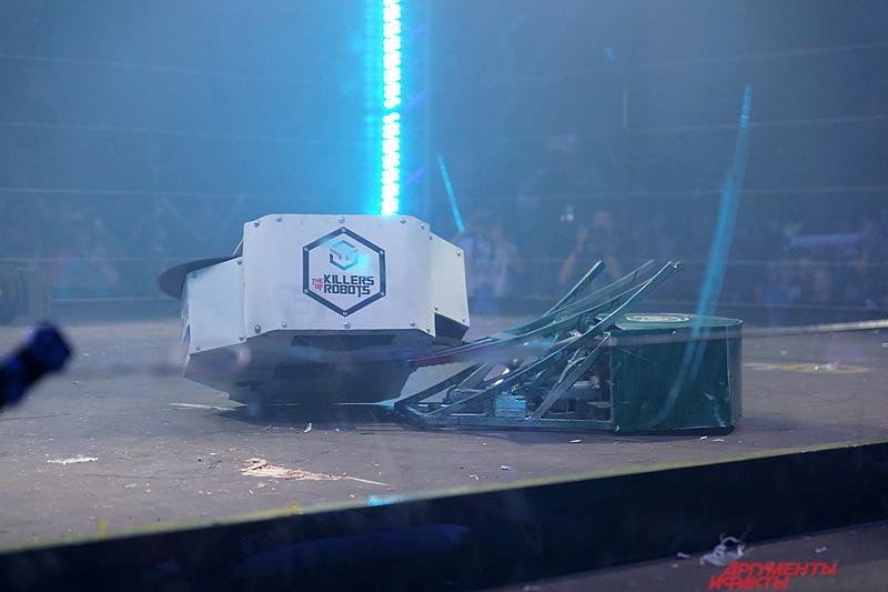 Битва роботов прошла в прошлом году с большим размахом.