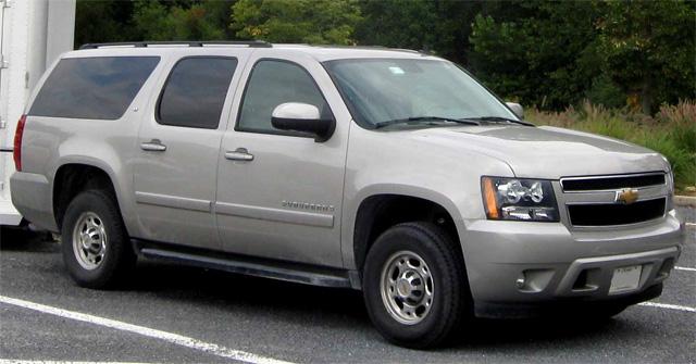 Chevrolet Suburban.