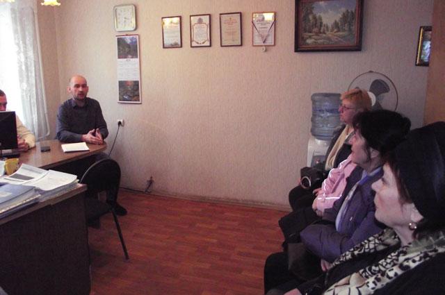 На встречах в управляющей компании председатели советов МКД получают ответы на вопросы использования общедомового имущества