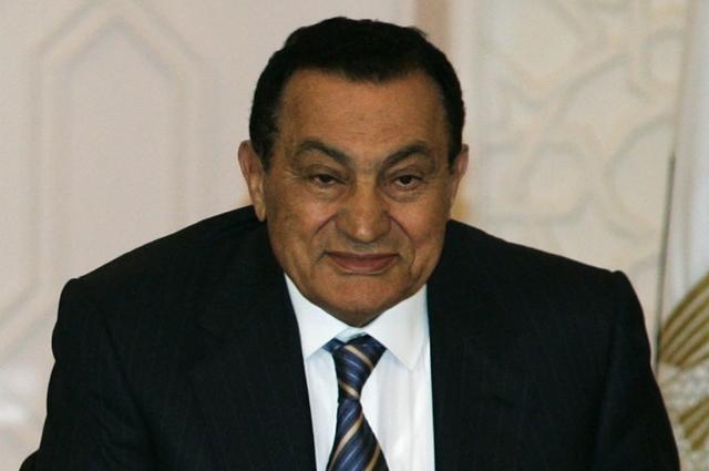 Хосни Мубарак.