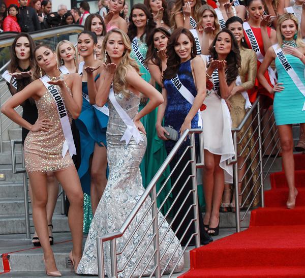 Конкурс красоты «Мисс Вселенная-2015»