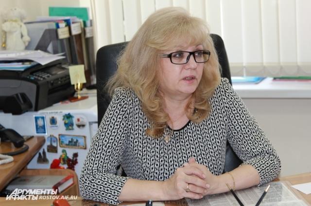 Замминистра образования Ростовской области Марина Мазаева.