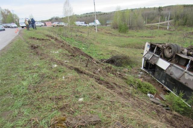 В аварии погиб 43-летний пассажир.