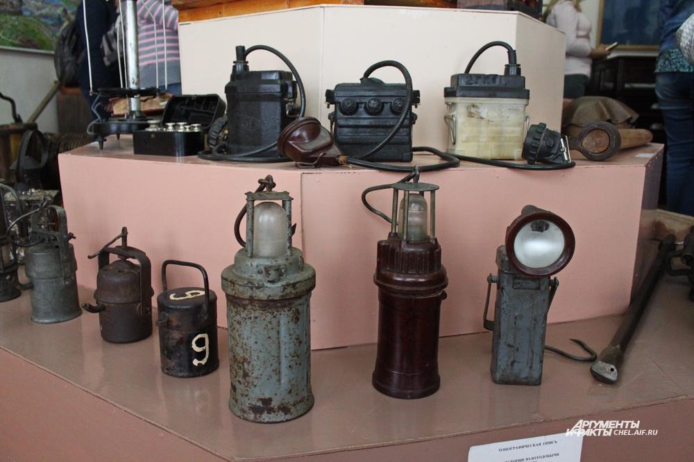 Значительная часть экспозиции музея посвящена горнякам. Например, здесь есть большая коллекция шахтёрских фонарей.
