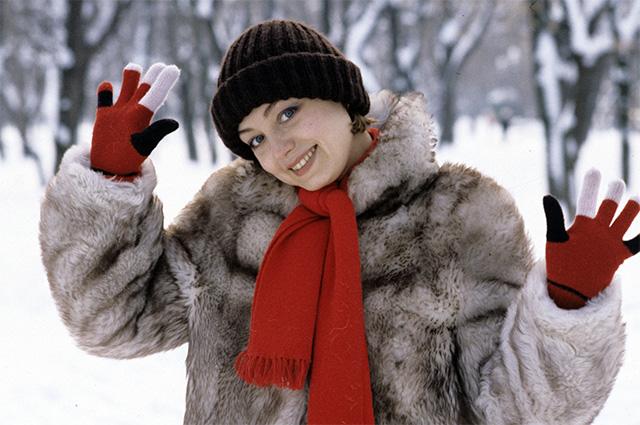 Елена Шанина. 1985 г.