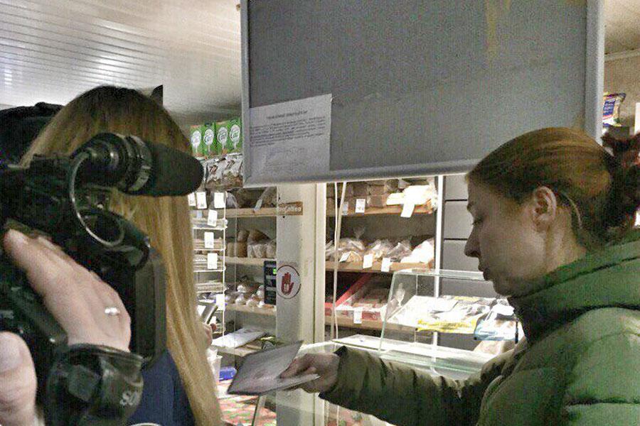 Волонтёры СМП участвуют в очередном рейде по выявлению просроченных продуктов.