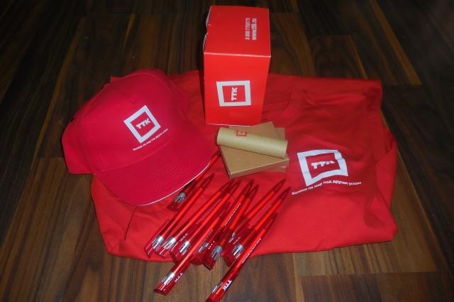 Специальные подарки победителям и участникам конкурса от ТТК.