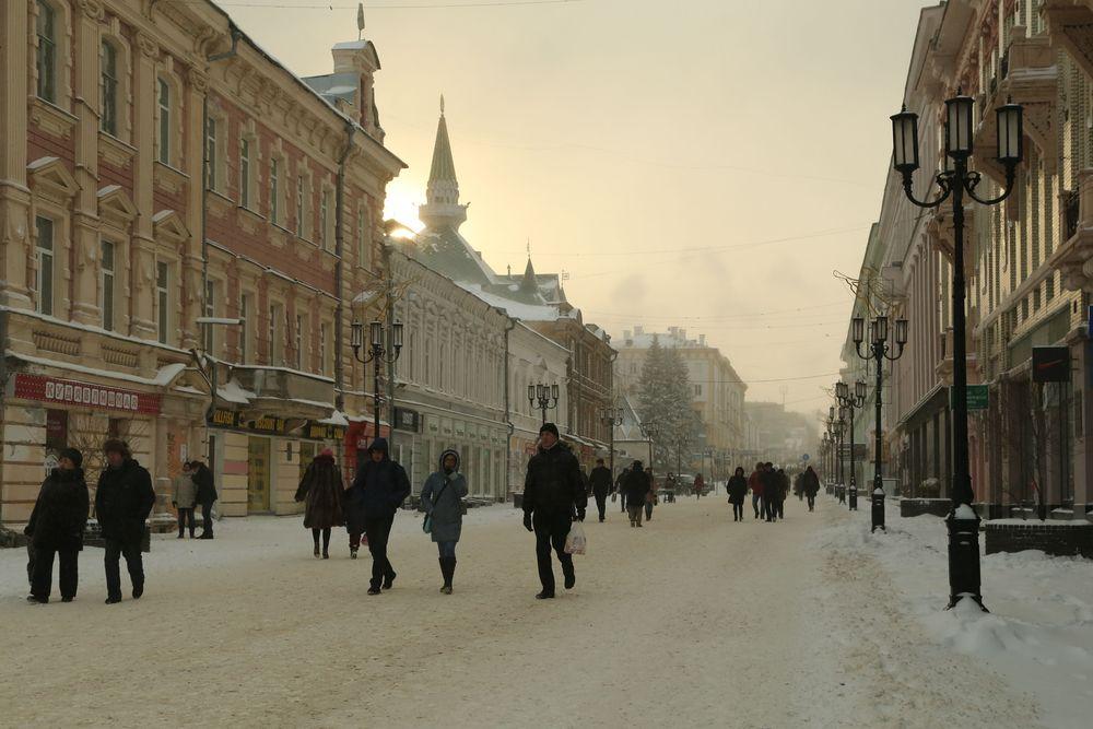 Главная улица Нижнего Новгорода — Большая Покровская.
