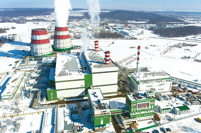 Затонская ТЭЦ оборудована двумя парогазовыми блоками