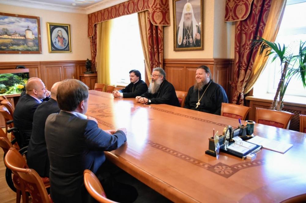 Представители местной епархии встретились с депутатами Госдумы