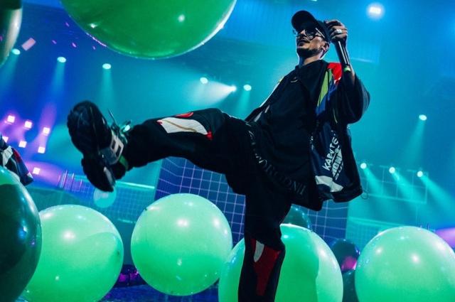 Шоу Vislovo: яркая дэнс-вечеринка от «Время и стекло»