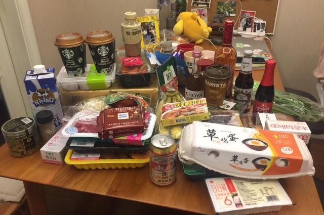 Алексей выходил из дома только в супермаркет за продуктами.