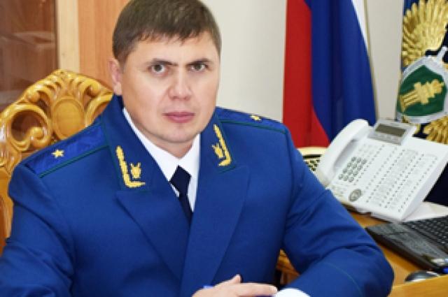 Прокурор Красноярского края Роман Тютюник.