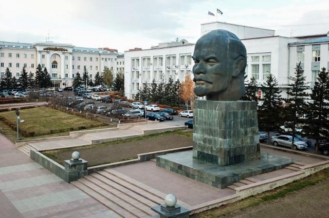 Улан-Удэ. Памятник вождю.