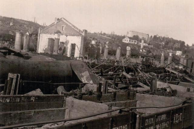 Смоленск-Сортировочный в 1941 году.