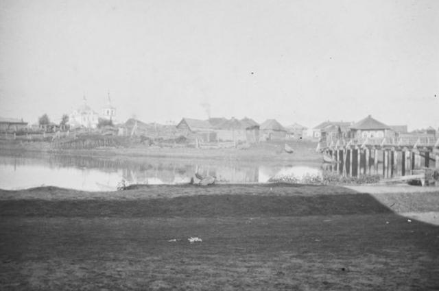 Нарым, около 1913-1914 годов.