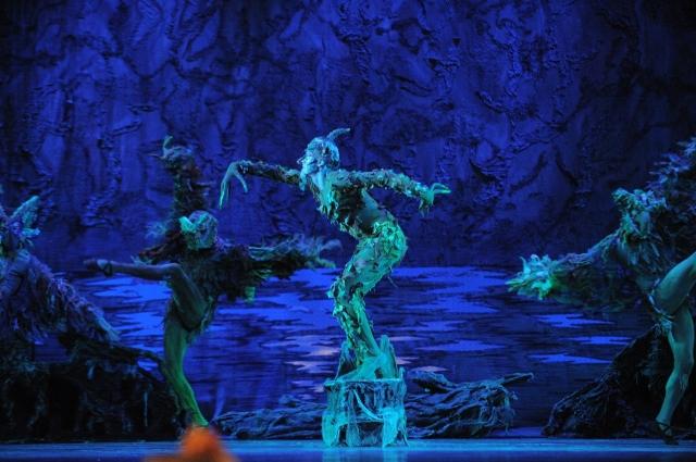 Первая постановка балета «Шурале»  состоялась в марте 1945 года.