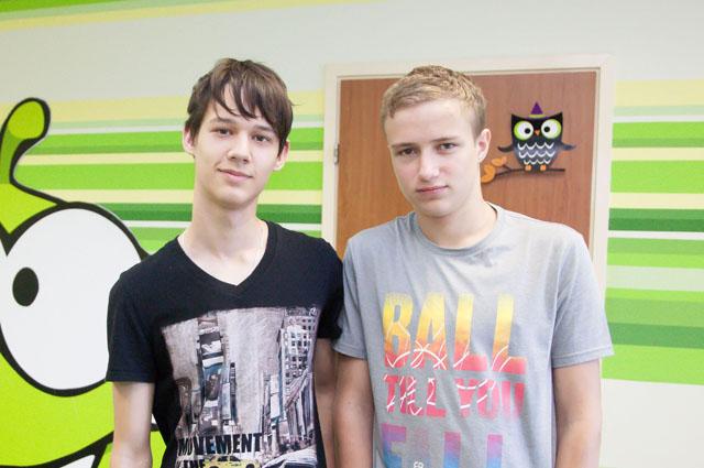 Денис Косов и Кирилл Ушаков