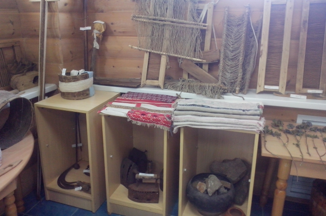 музей, старинная домашняя утварь