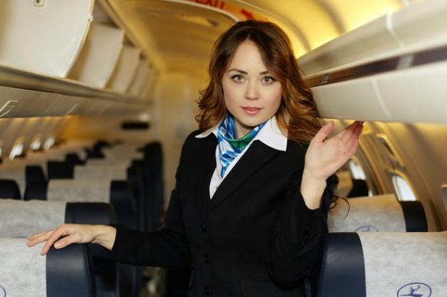 Идеальная стюардесса должна отдать жизнь за спасение пассажиров – уверена Мария.